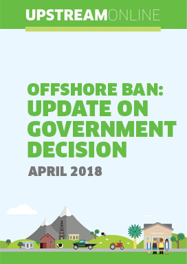 Offshore ban: update on Government decision - April 2018