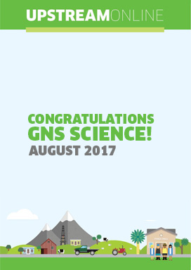 Congratulations GNS Science! - August 2017