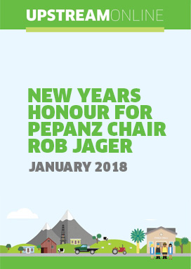 New Years Honour for PEPANZ Chair Rob Jager - January 2018