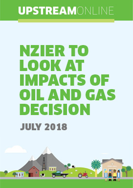 NZIER to look at impacts of oil and gas decision  - July 2018
