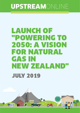Launch of 'Powering to 2050: A Vision for Natural Gas in New Zealand' - July 2019