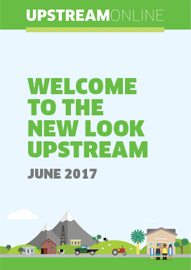 Welcome to the new look Upstream - June 2017