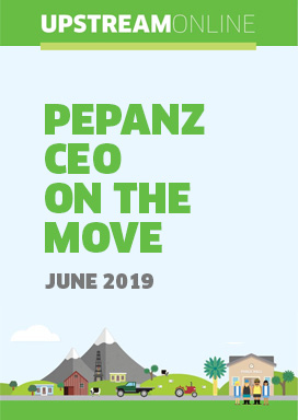 PEPANZ CEO on the move - June 2019