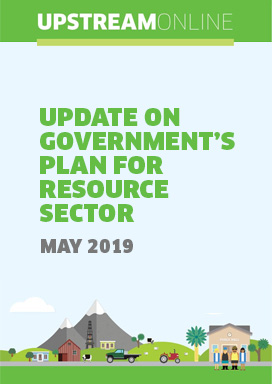 Update on Government's plans for resources sector - May 2019