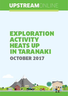Exploration activity heats up in Taranaki - October 2017