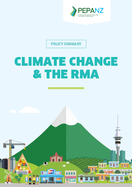 Policy - Climate Change and the RMA