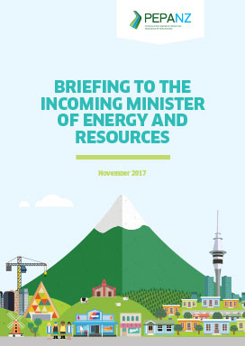 Briefing to the Incoming Minister of Energy and Resource November 2017